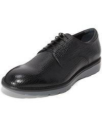 Z Zegna - Hybrid Derby Lace Up Shoes - Lyst