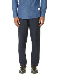 Mki miyuki-zoku Casual Suit Trousers in Blue for Men | Lyst