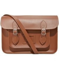 "Cambridge Satchel Company - 14"" Classic Satchel With Magnetic Closure - Lyst"