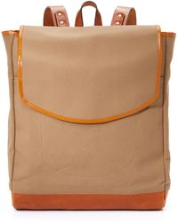 Southern Field Industries - Waxed Canvas Sf Rucksack - Lyst