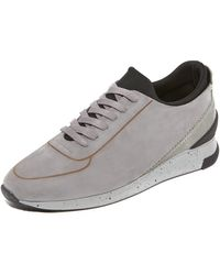 H by Hudson - Sime Nubuck Trainers - Lyst