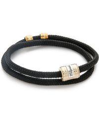 Miansai - Casing Rope Wrap Bracelet - Lyst