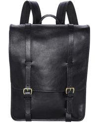 Lotuff Leather - Leather Backpack - Lyst