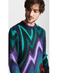 Paul Smith - Blue Kid Mohair Sweater - Lyst