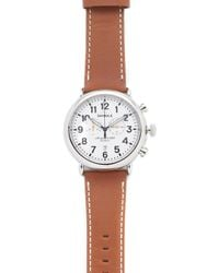Shinola - The Runwell Chronograph 47mm Watch - Lyst
