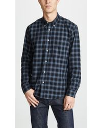 Billy Reid - Tuscumbia Button Down Shirt - Lyst