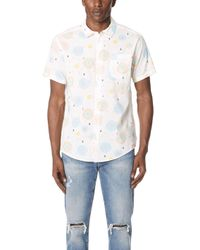 RVCA - Fireworks Short Sleeve Shirt - Lyst