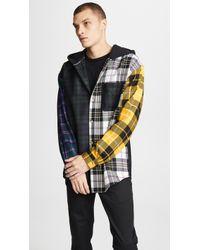 Alexander Wang - Muticolor Plaid Overshirt - Lyst