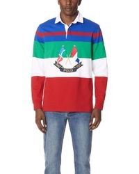 Polo Ralph Lauren - Utility Jersey Rugby Shirt - Lyst