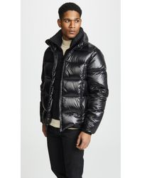 7991cb9b513e66 Lyst - The Very Warm Coach s Jacket in Black for Men
