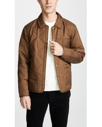 Billy Reid - Onion Quilted Shirt Jacket - Lyst