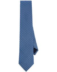 Ferragamo - Interlocking Gancini Tie - Lyst