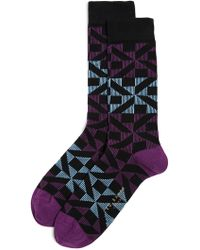 Ted Baker - New Home Pattern Socks - Lyst