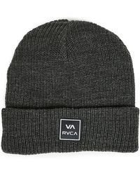 RVCA - Washed Beanie - Lyst