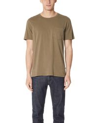 Billy Reid - Washed Tee - Lyst