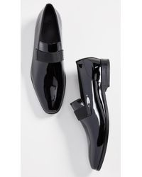 BOSS Highline Patent Slip-on Loafers