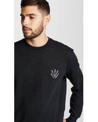 Rag & Bone - Men's Dagger Embroidered Sweatshirt - Lyst