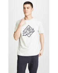 A.P.C. - Logo Print T-shirt - Lyst