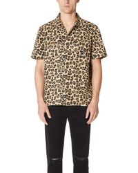 Stussy - Button Down Shirt - Lyst