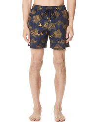 Vilebrequin - Prehistoric Fish Lightweight Swim Trunks - Lyst