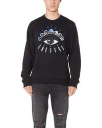 KENZO - Eye Icon Cotton-jersey Sweatshirt - Lyst