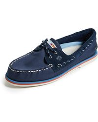 Sperry Top-Sider - Men's Authentic Original Two Eye Nautical Boat Shoes - Lyst