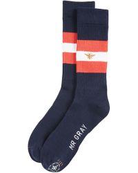 Mr Gray - Bee Keeper Socks - Lyst