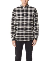 Gitman Brothers Vintage - Colorado Flannel Shirt - Lyst