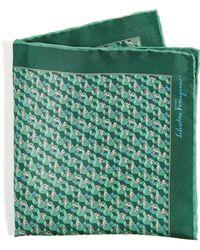 Ferragamo - Rabbit Pocket Square - Lyst