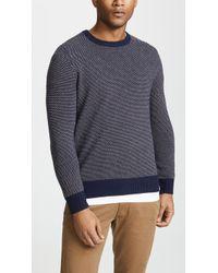 J.Crew - Classic Merino Birdseye Sweater - Lyst