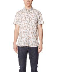 Billy Reid - Tuscumbia Shirt - Lyst