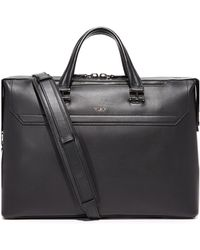 Tumi - Ashton Leather Gates Slim Briefcase - Lyst