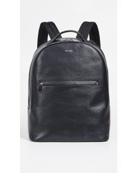0ee41f9ea2c Lyst - Paul Smith Canvas Backpack in Black for Men