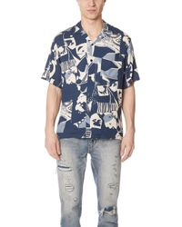 Portuguese Flannel - Cuca Abstract Short Sleeve Shirt - Lyst