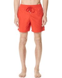Vilebrequin - Solid Swim Trunks - Lyst