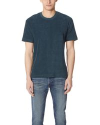 Sunspel - Short Sleeve Terry Tee - Lyst