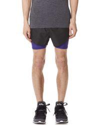 Adidas Originals | Coated Shorts | Lyst