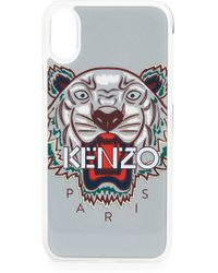 KENZO - Silicon Tiger Iphone X Case - Lyst