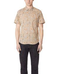 Billy Reid - Short Sleeve Kirby Shirt - Lyst