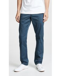 RVCA - Weekend Stretch Pants - Lyst
