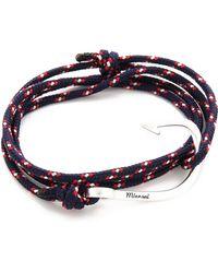 Miansai | Hooked Rope Wrap Bracelet | Lyst