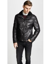Mackage - Willard Down Leather Jacket - Lyst