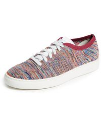 PS by Paul Smith - Doyle Multi Knitted Sneakers - Lyst
