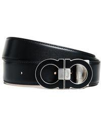 Ferragamo - Double Gancio Adjustable Belt - Lyst