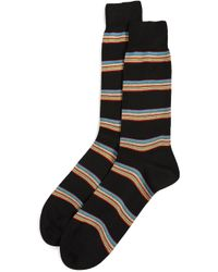 Paul Smith | Multi Block Socks | Lyst