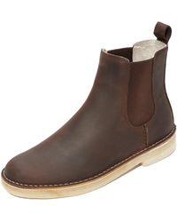 Clarks - Desert Peak Chelsea Boots - Lyst