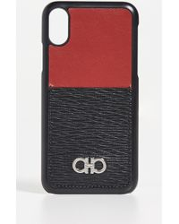 Ferragamo - Revival Gancini Iphone X Case - Lyst