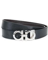 Ferragamo - Reversible And Adjustable Belt - Lyst