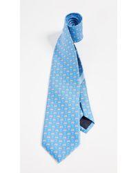 Ferragamo - Vacation Print Tie - Lyst