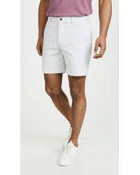 Club Monaco - Baxter Stripe Shorts - Lyst